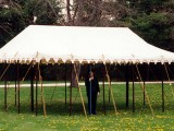 20 x 20ft (7 x 7m) Square Marquee, without it's walls