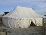 30 x 18ft (9 x 5.5m) Oval Marquee