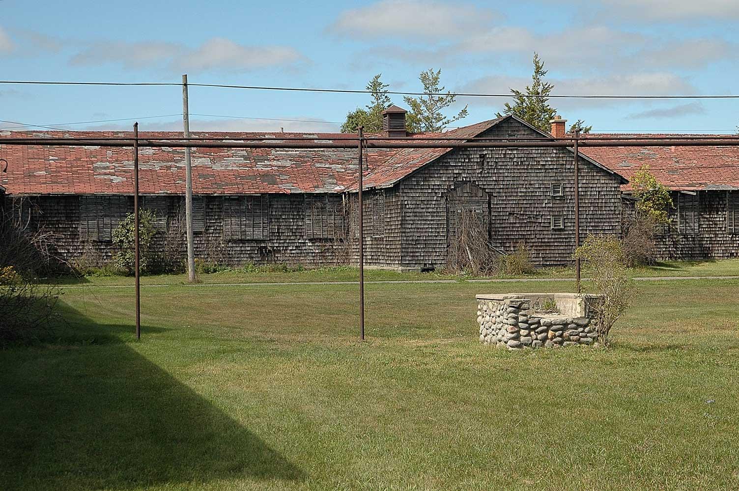 Exterior Barracks