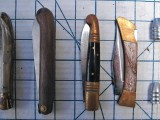Clasp Knives (closed) & bullets