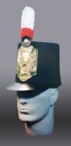 Figure 2. Battalion Company shako 1806. Photo by Peter Twist