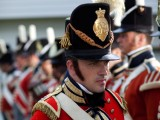 Reviewing the Troups, all uniforms were supplied by me and period accurate