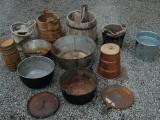Buckets; Tubs; Pots