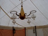 Oil Burning Chandelier